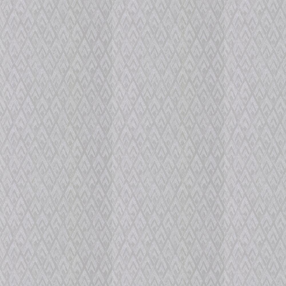 Facet Wallpaper - Silver Shadow - by Prestigious