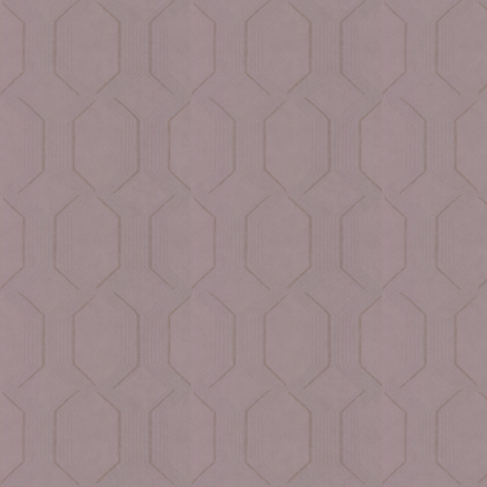 Glisten Wallpaper - Rose Quartz - by Prestigious