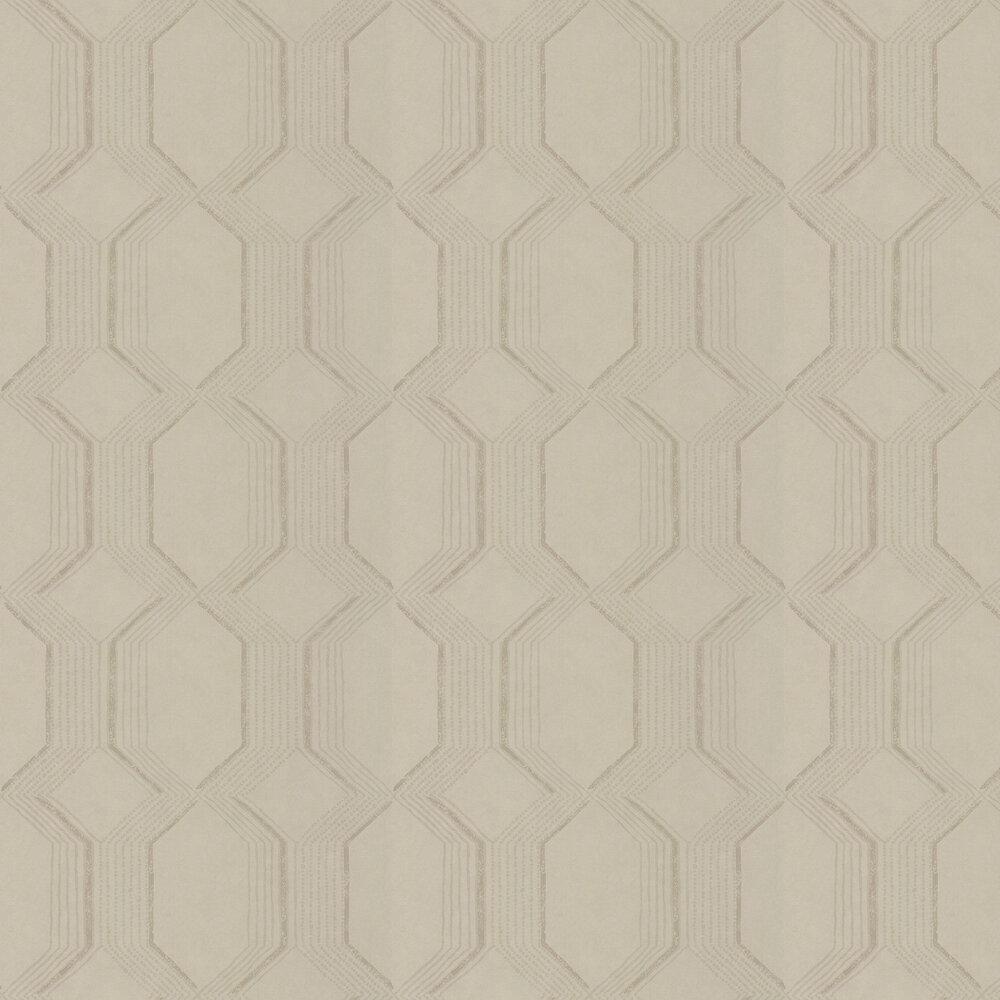 Glisten Wallpaper - Silver Shadow - by Prestigious