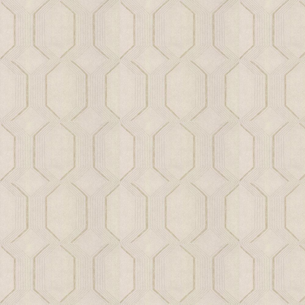 Glisten Wallpaper - Champagne - by Prestigious