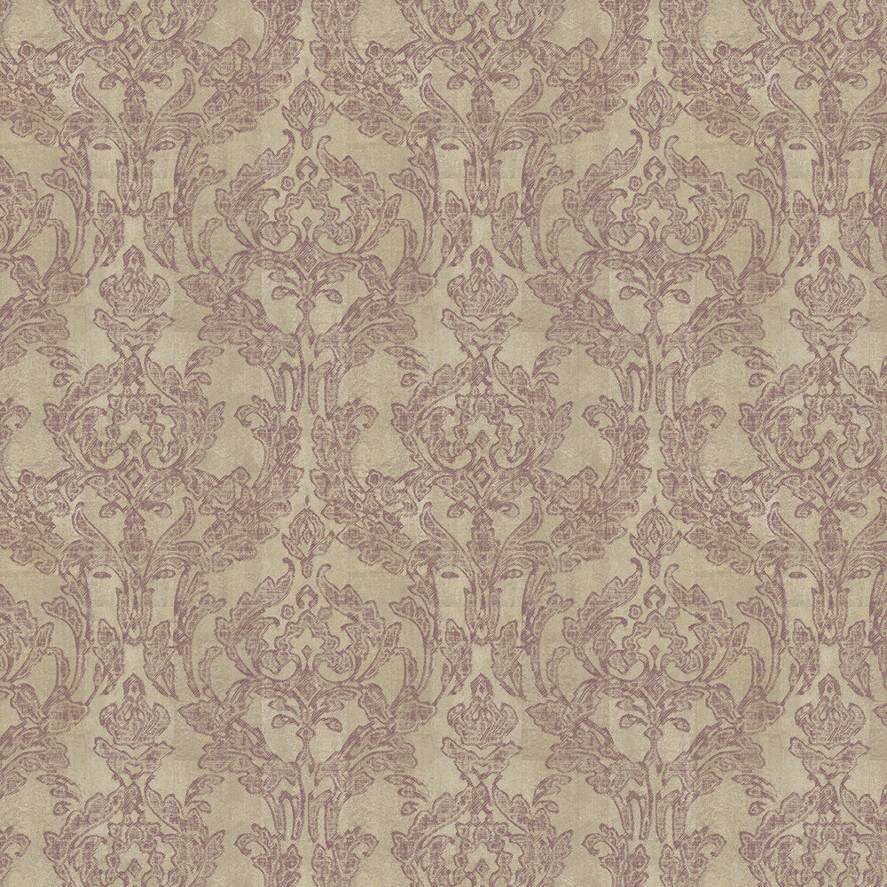 Vita Wallpaper - Butterscotch Berry - by Elizabeth Ockford