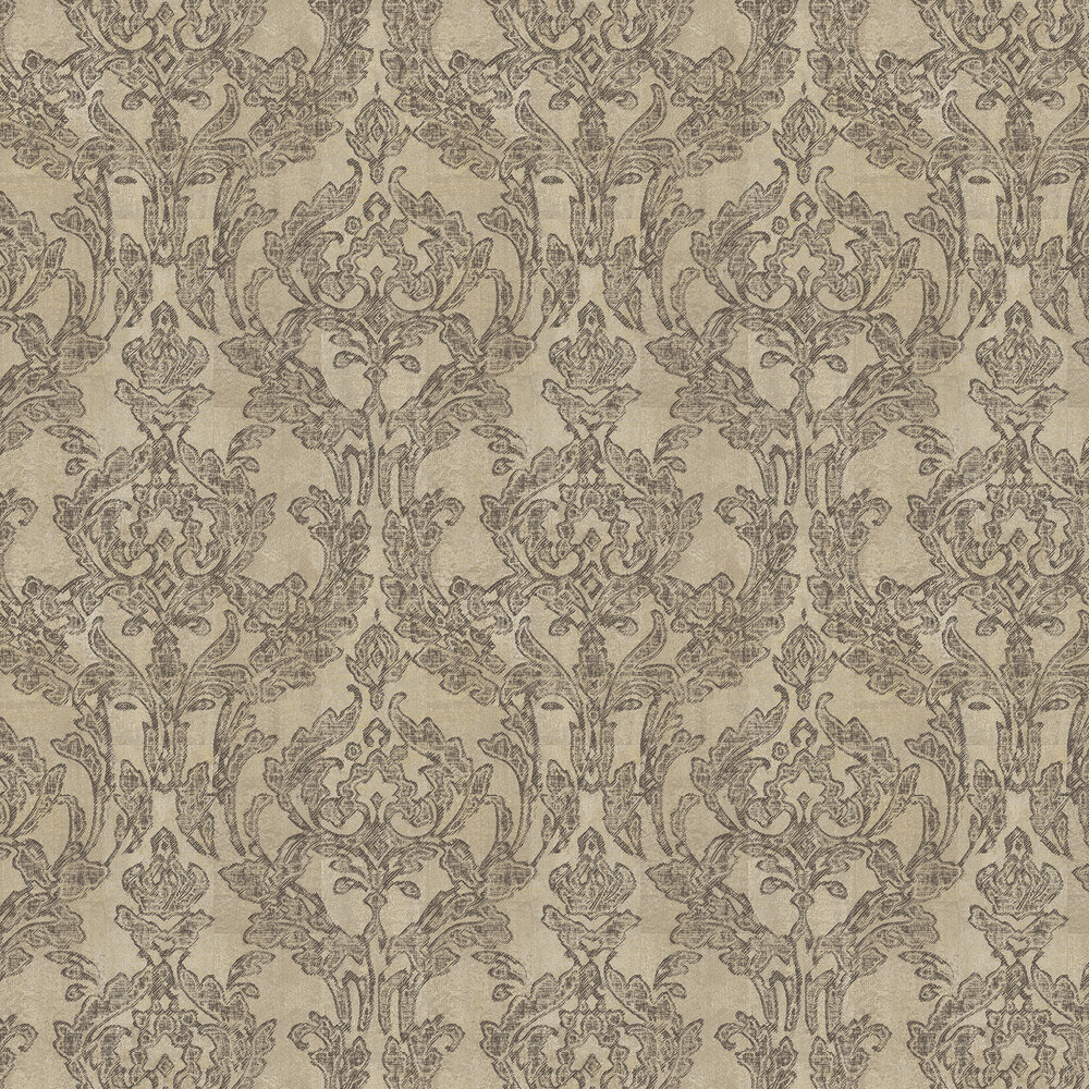 Vita Wallpaper - Butterscotch Chocolate - by Elizabeth Ockford