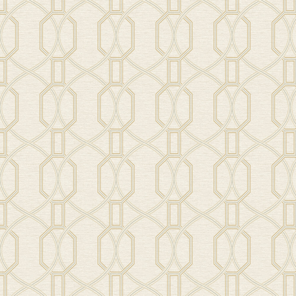 Coleton Wallpaper - Soft Cream - by Elizabeth Ockford
