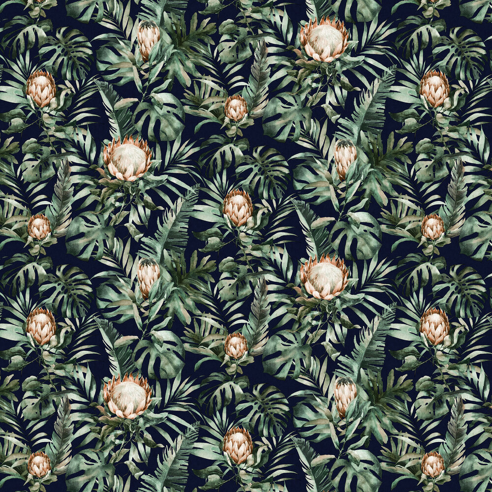Albany Nia Navy Wallpaper - Product code: 90222