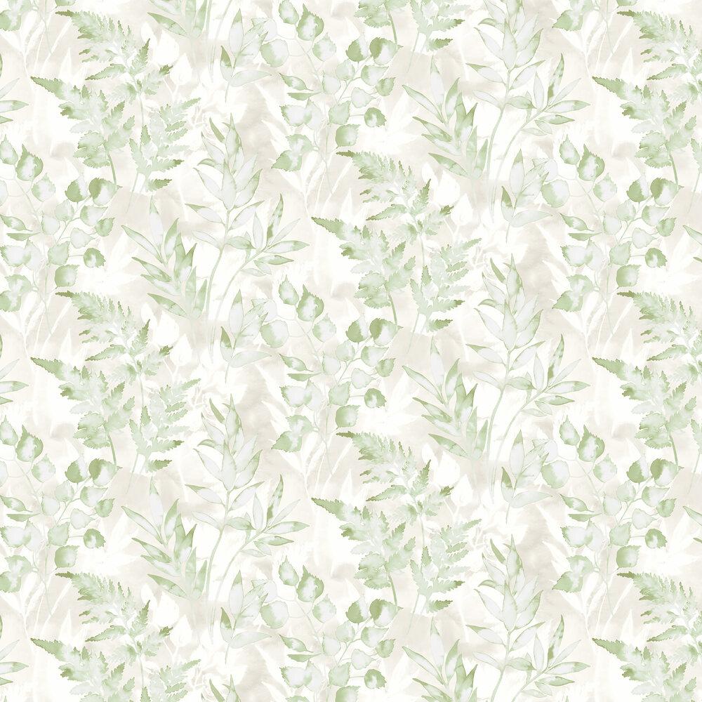 Albany Cedar Green Wallpaper - Product code: 90291