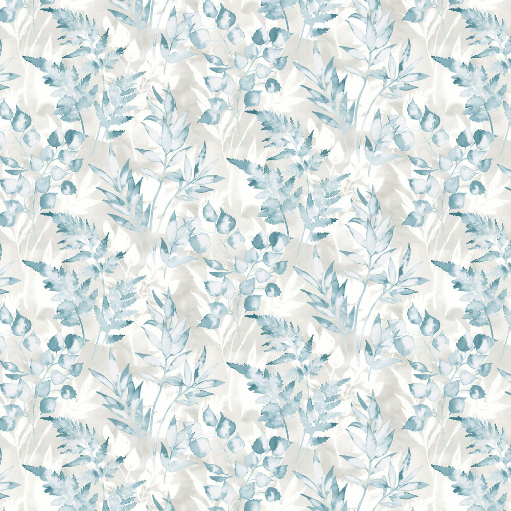 Cedar Wallpaper - Teal - by Albany
