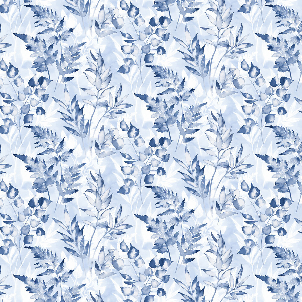 Cedar Wallpaper - Navy - by Albany