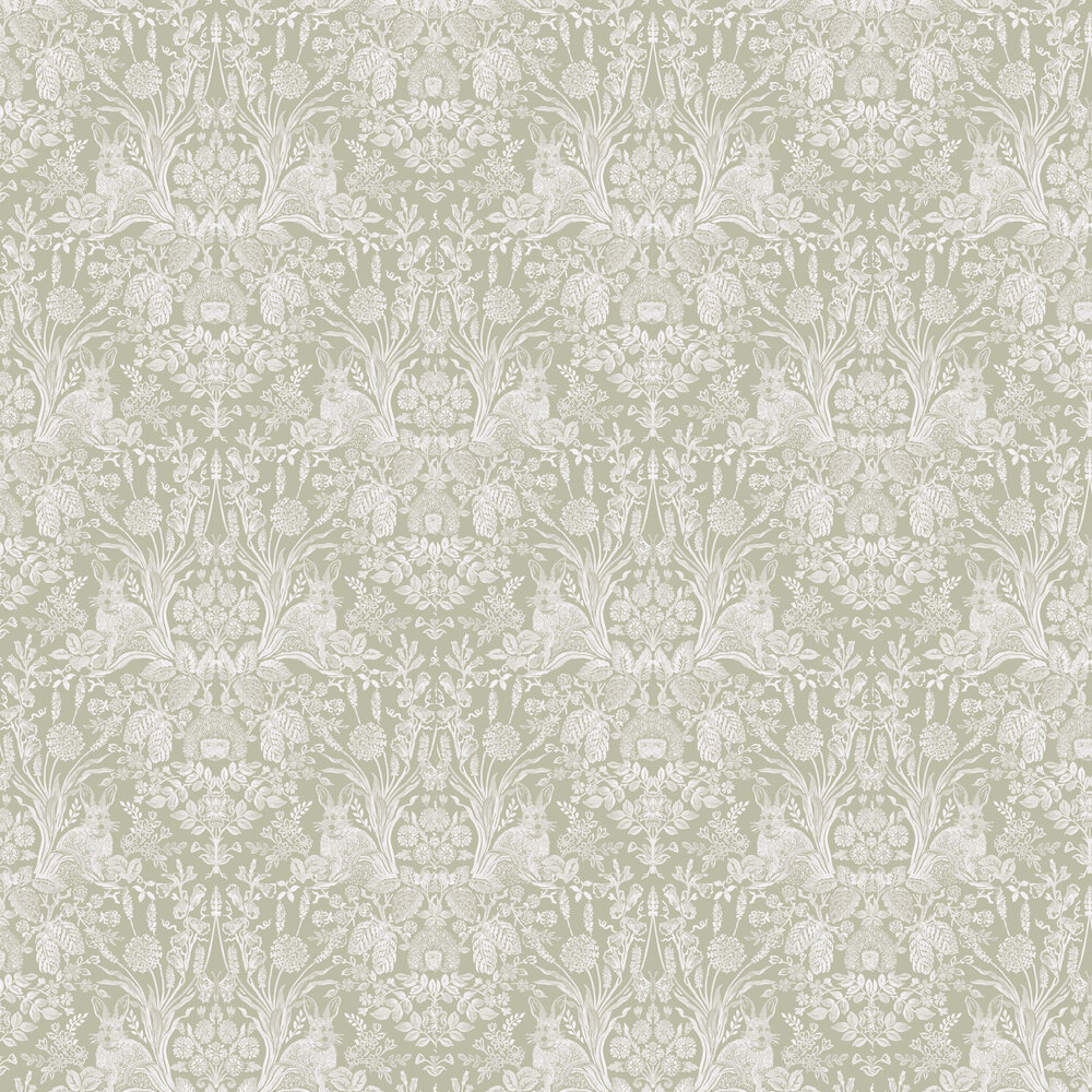 Albany Bexley Sage Wallpaper - Product code: 90322