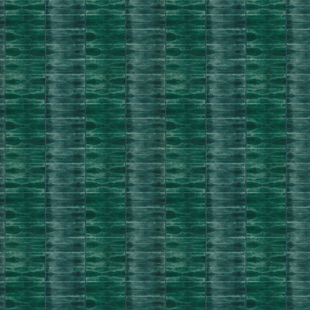 Ethereal Wallpaper - Emerald - by Anthology
