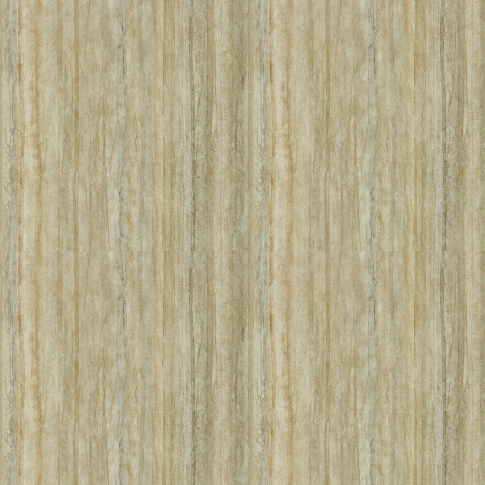 Plica Wallpaper - Ochre - by Anthology