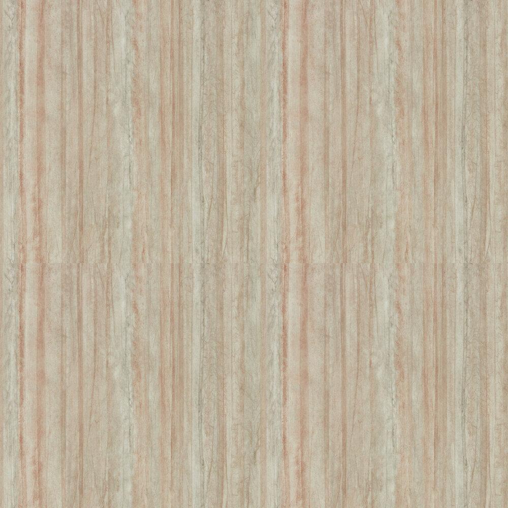 Plica Wallpaper - Copper - by Anthology