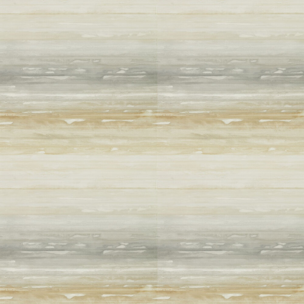 Elements Wallpaper - Ochre - by Anthology