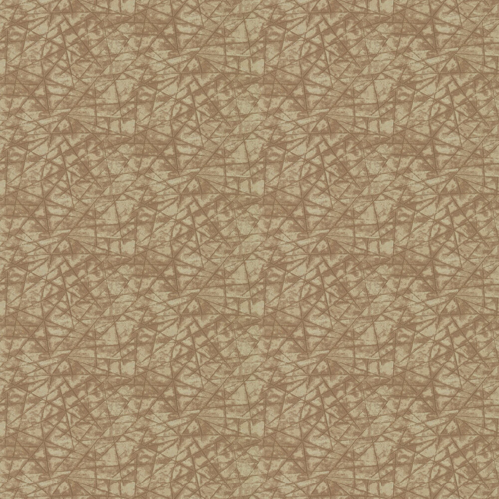 Shatter Wallpaper - Copper - by Anthology