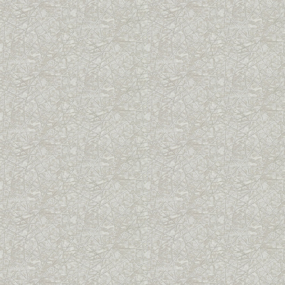 Shatter Wallpaper - Ivory and Pebble - by Anthology