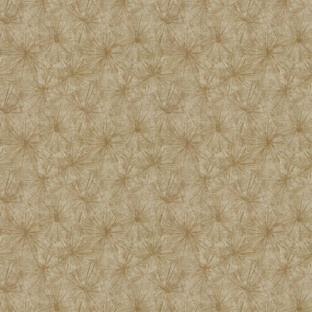 Illusion Wallpaper - Gold - by Anthology