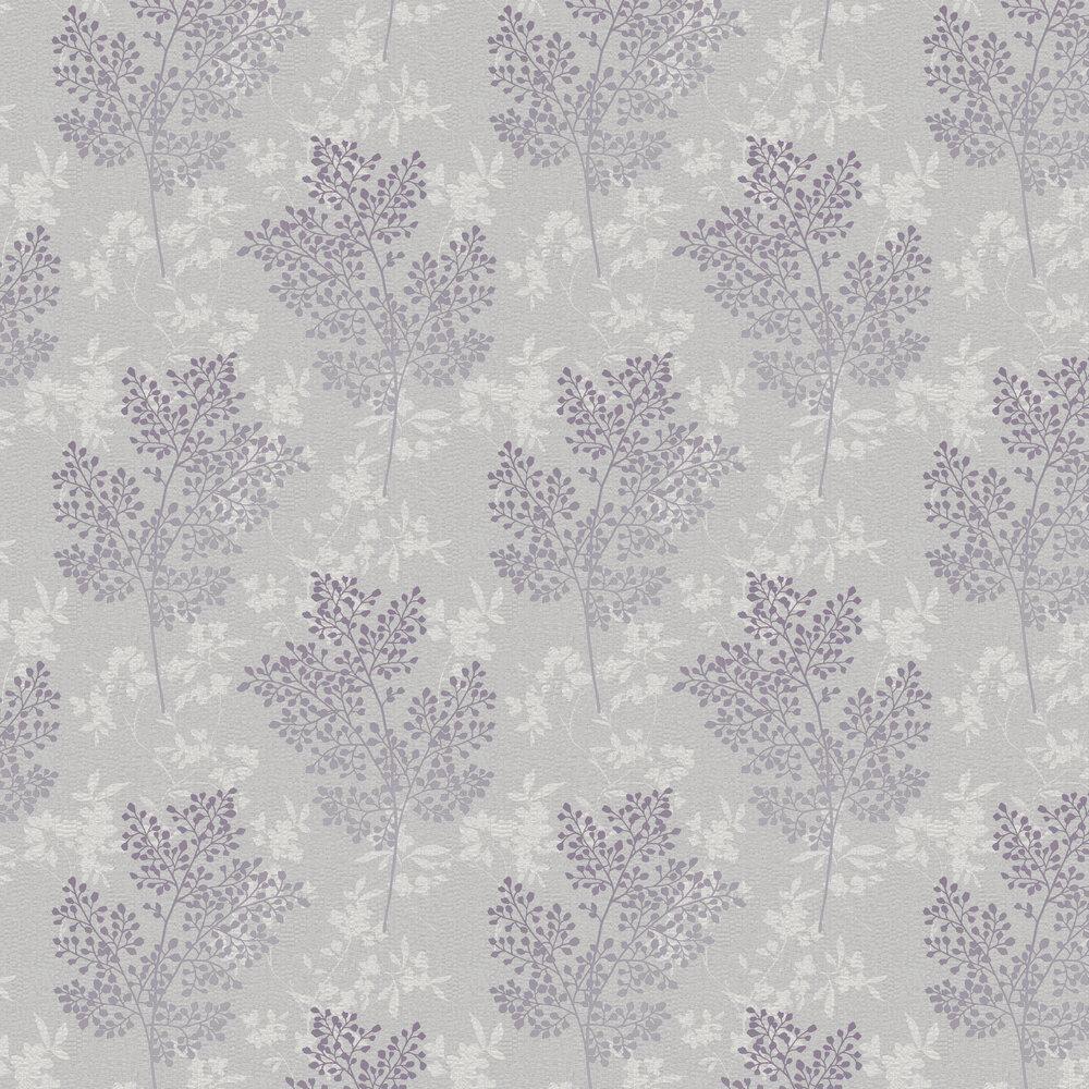 Arthouse Parkland Grey / Mauve Wallpaper - Product code: 698004