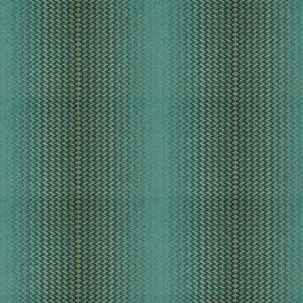 Modulate Wallpaper - Emerald - by Anthology