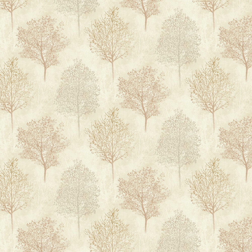 Arthouse Silva Woods Neutral / Rust Wallpaper - Product code: 698104