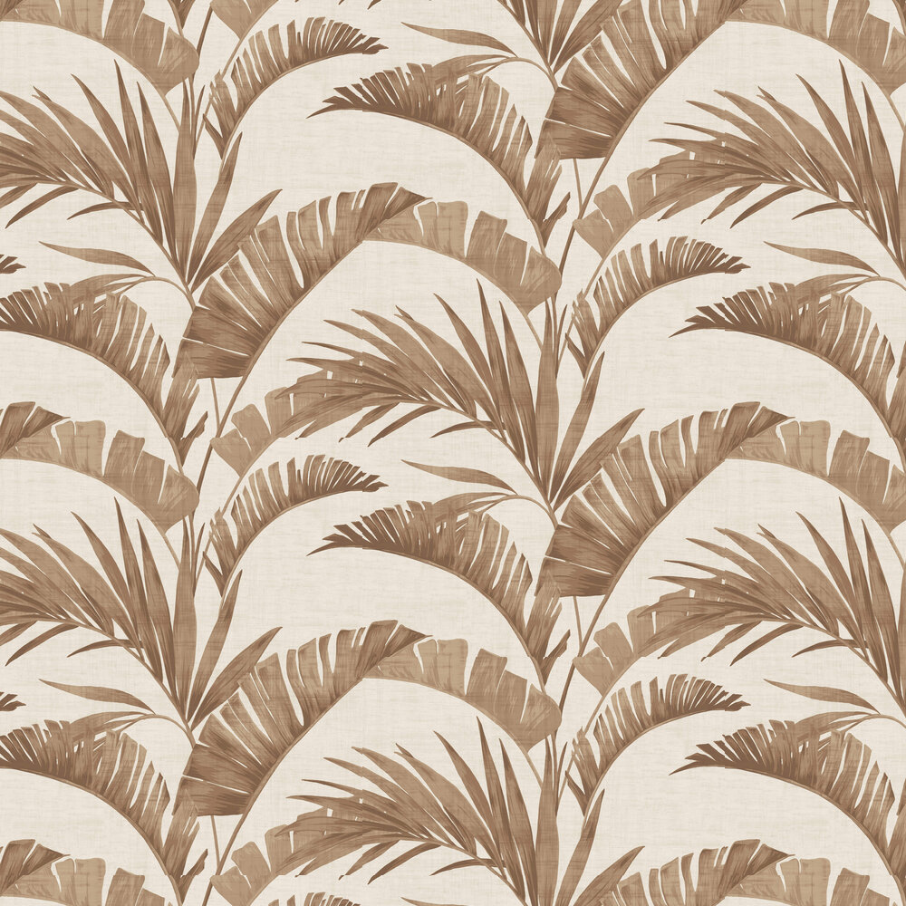Arthouse Banana Palm Coffee Wallpaper - Product code: 610602