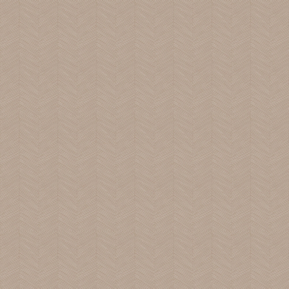 Arrow Weave Wallpaper - Natural - by Arthouse