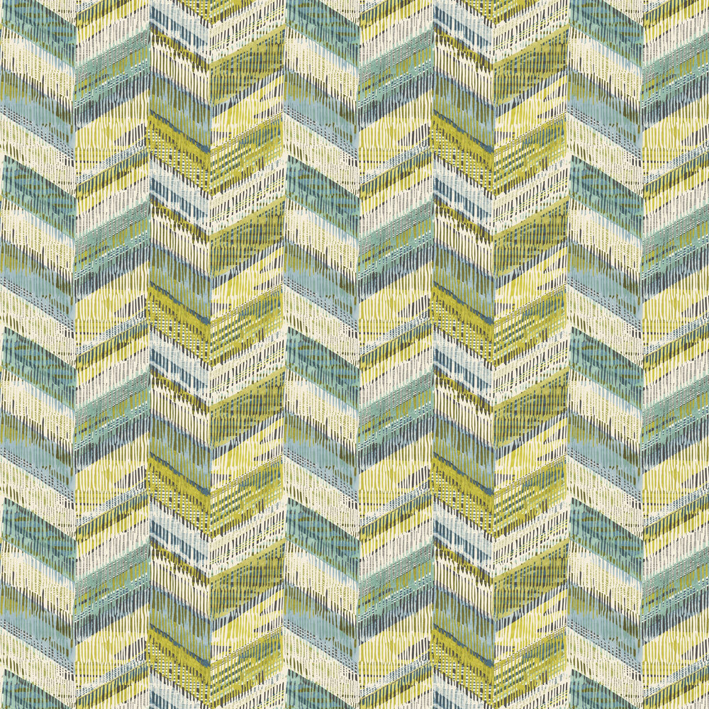 Arthouse Chevron Weave Lime Wallpaper - Product code: 610800