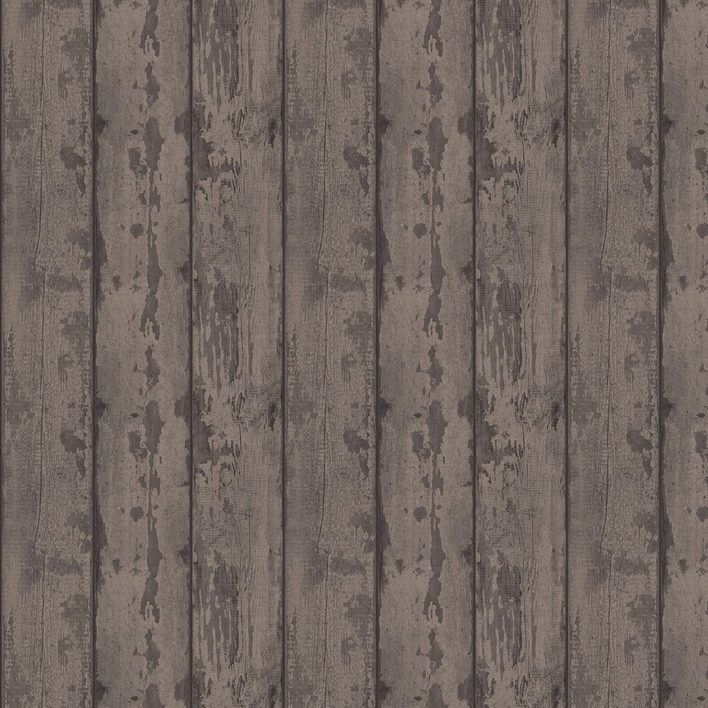 Arthouse Mahogany Wood Plank Brown Wallpaper - Product code: 610802