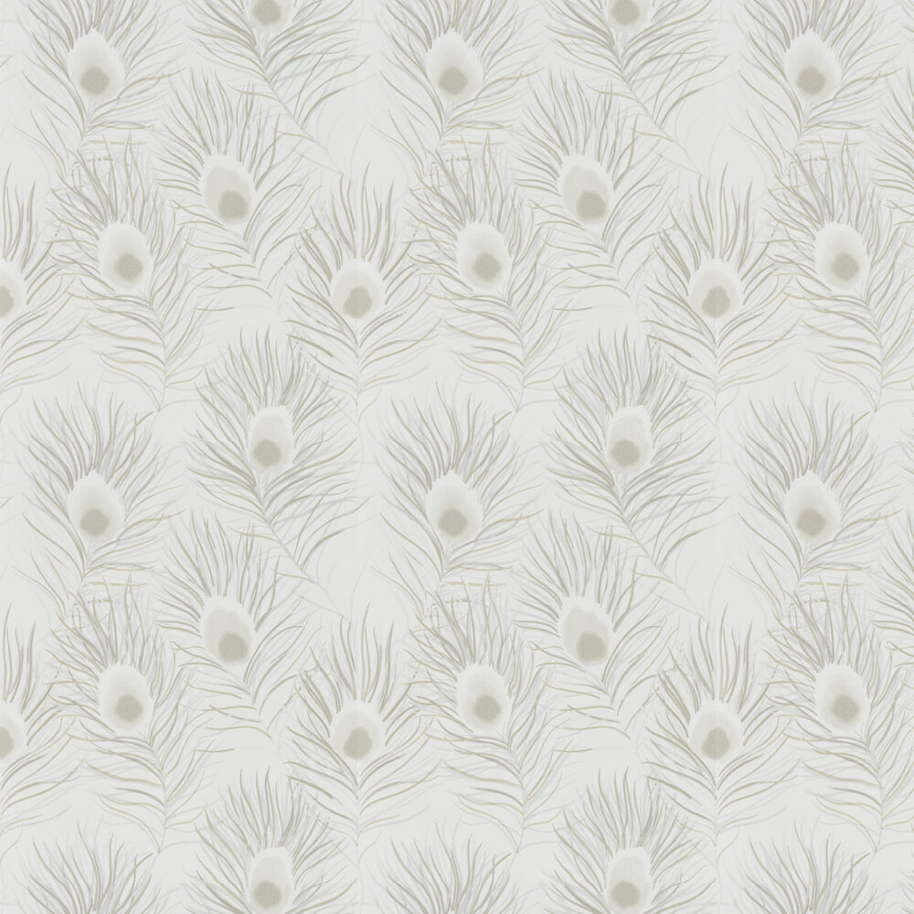 Orlena Wallpaper - Pearl - by Harlequin