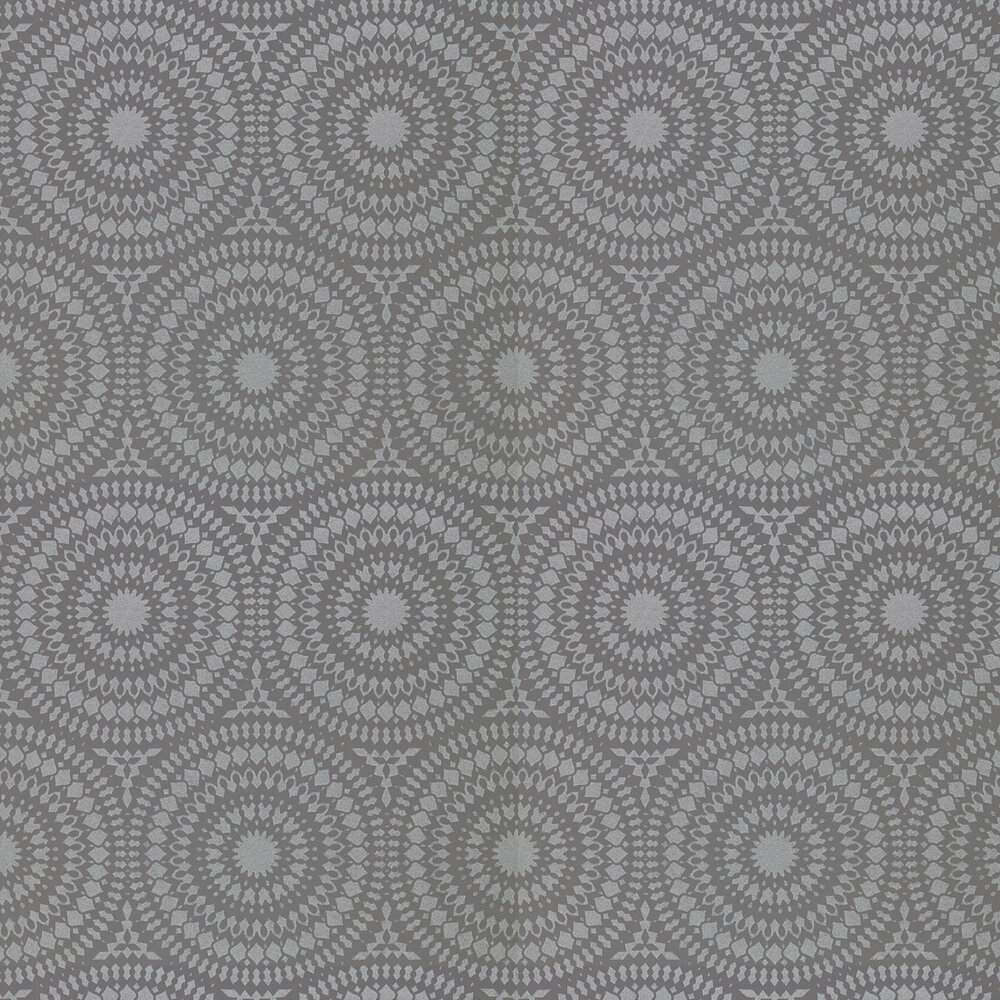 Cadencia Wallpaper - French Grey - by Harlequin