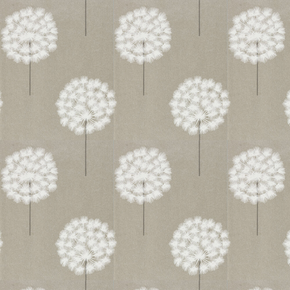 Amity Wallpaper - Slate/Putty - by Harlequin