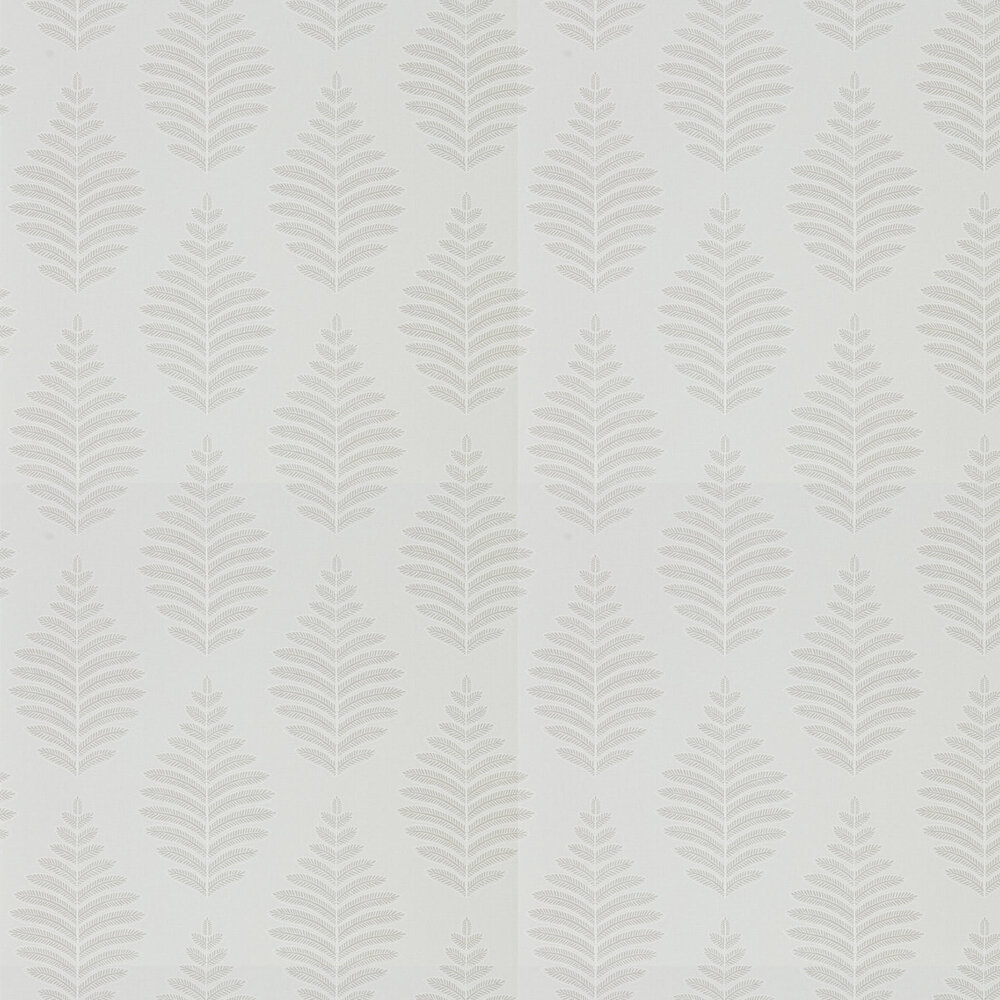 Lucielle Wallpaper - Putty/Chalk - by Harlequin