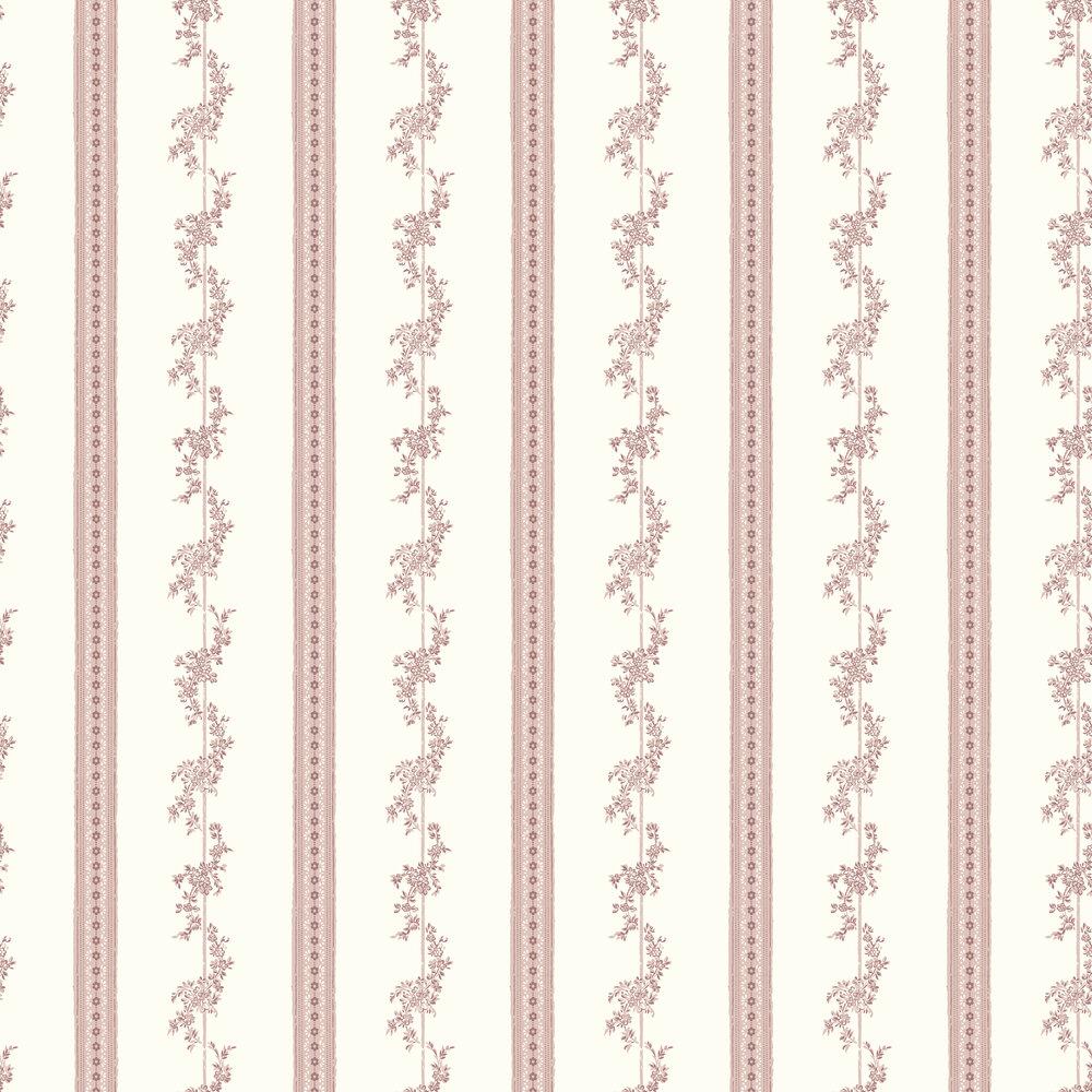 Drottningholm Wallpaper - Pink - by Boråstapeter