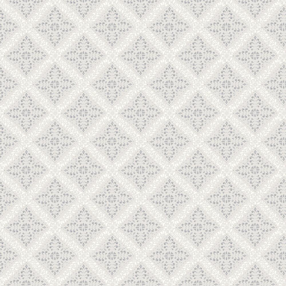 Nyborg Wallpaper - Grey - by Boråstapeter