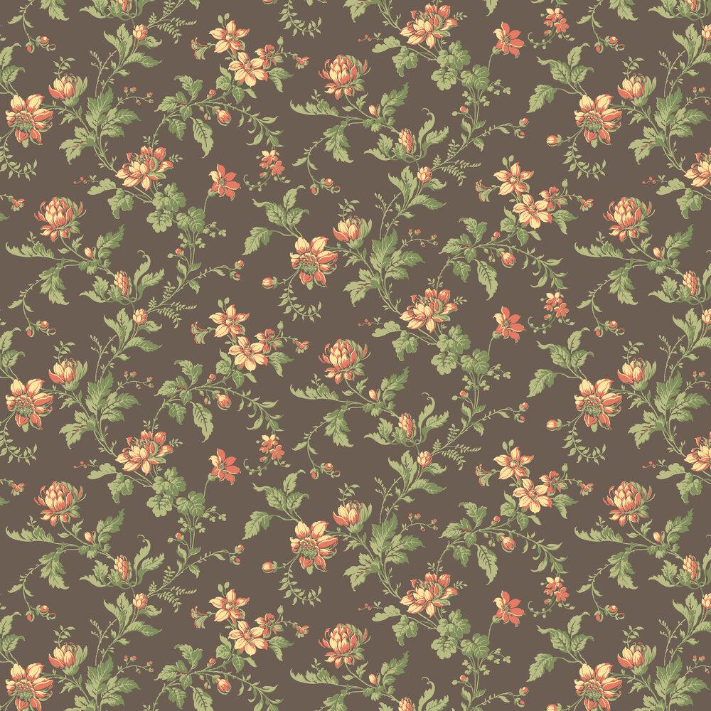 Blomslinga Wallpaper - Pink - by Boråstapeter