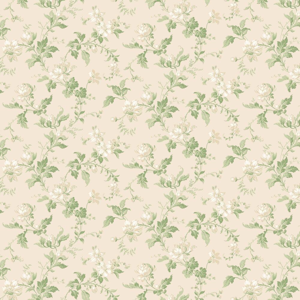 Boråstapeter Blomslinga Cream Wallpaper - Product code: 4519