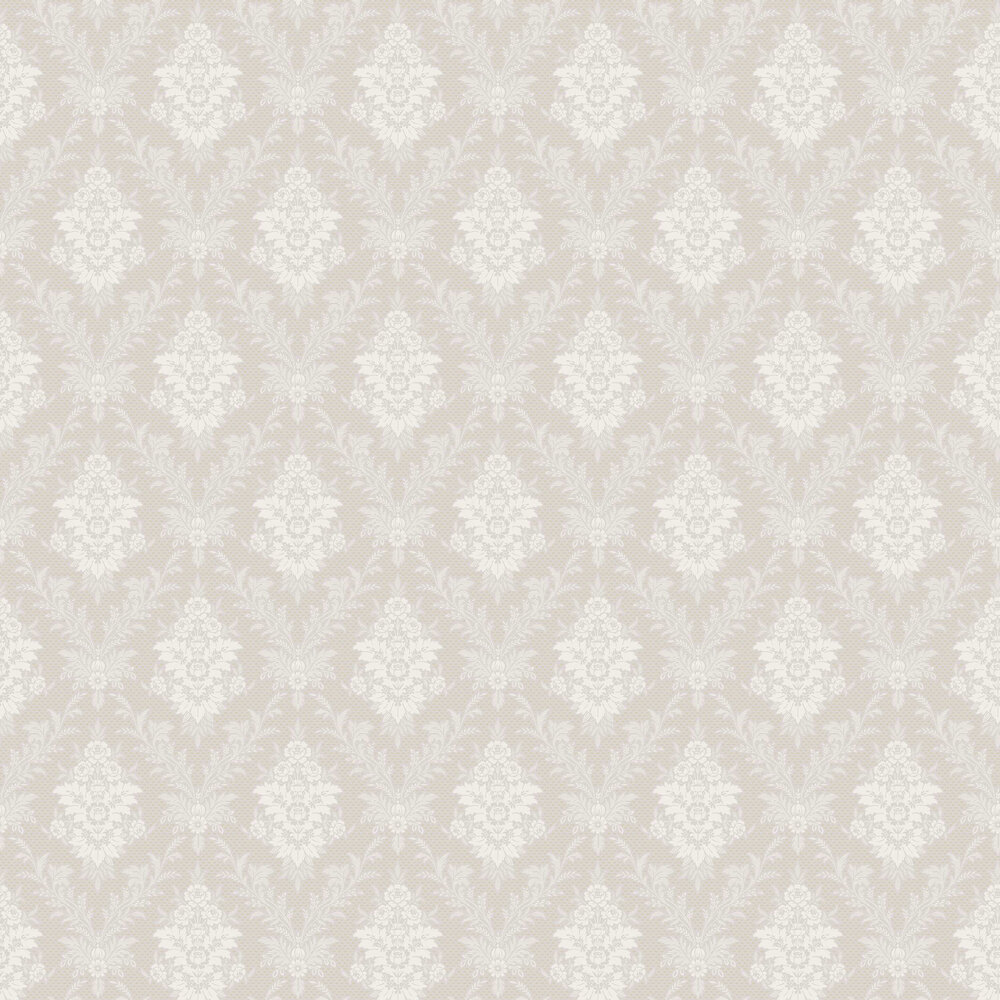 Boråstapeter Sofia Silver Wallpaper - Product code: 4533