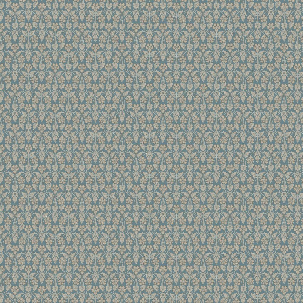 Boråstapeter Nora Blue Wallpaper - Product code: 4535