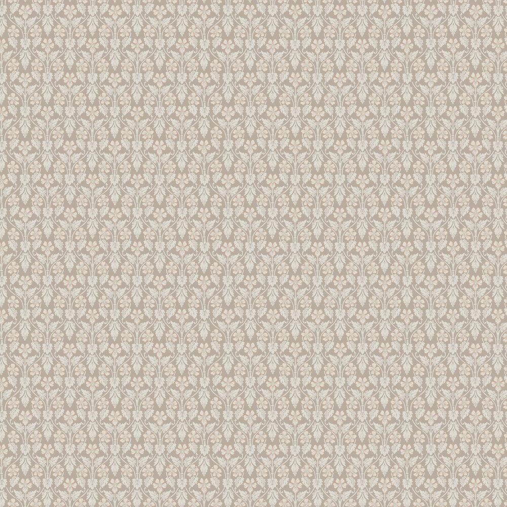 Nora Wallpaper - Beige - by Boråstapeter