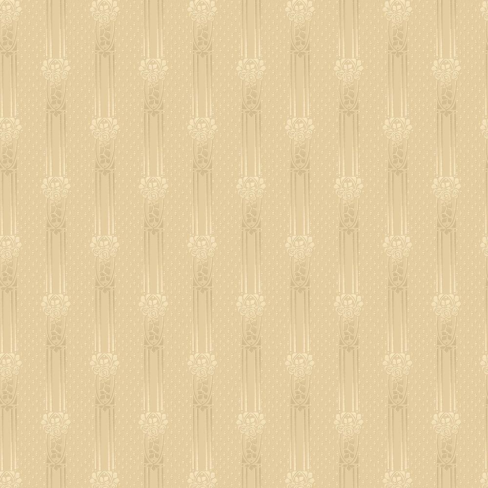 Ellen Wallpaper - Golden Beige - by Boråstapeter