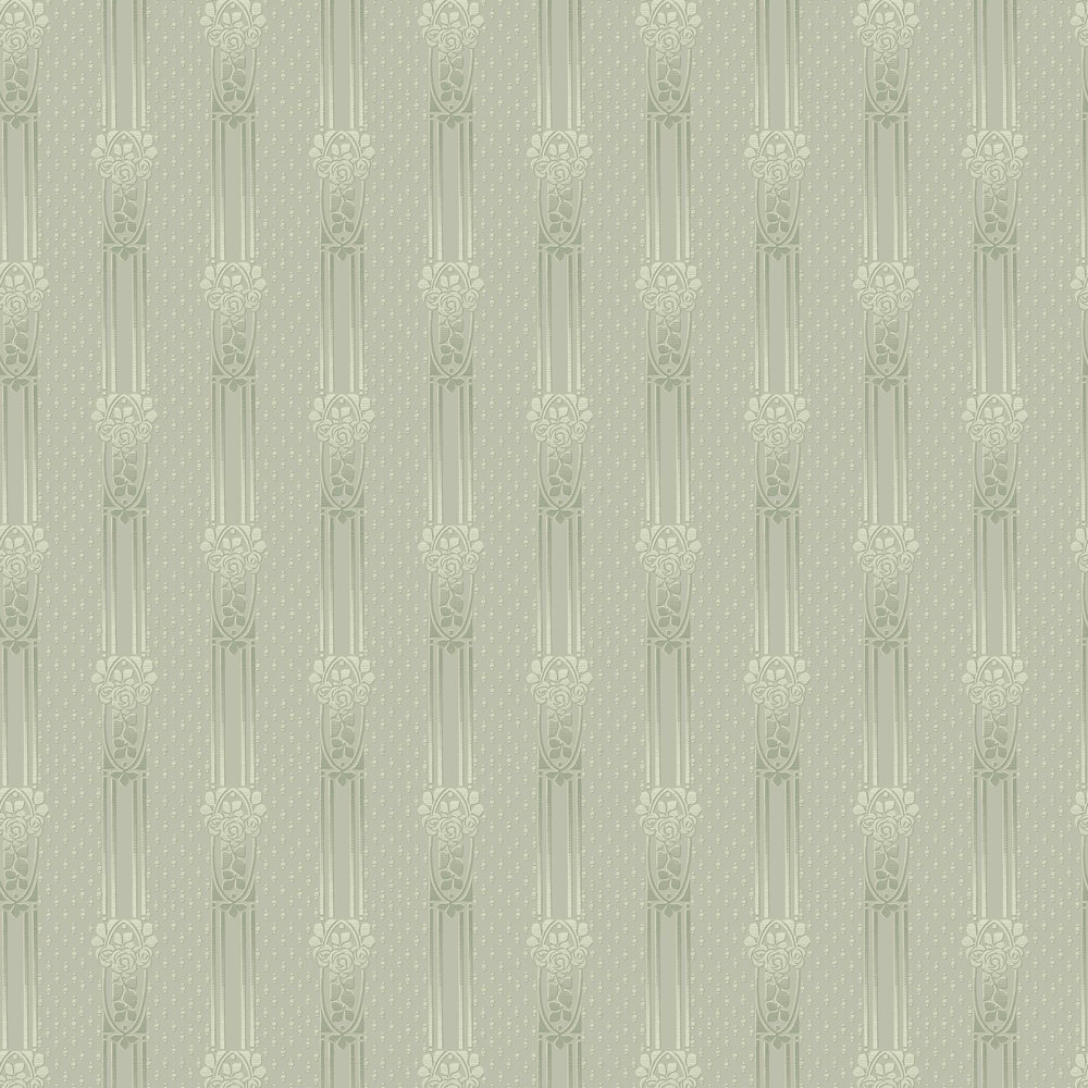 Boråstapeter Ellen Soft Green Wallpaper - Product code: 4542