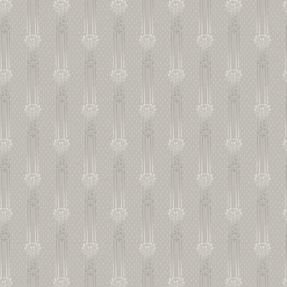 Ellen Wallpaper - Dove grey - by Boråstapeter