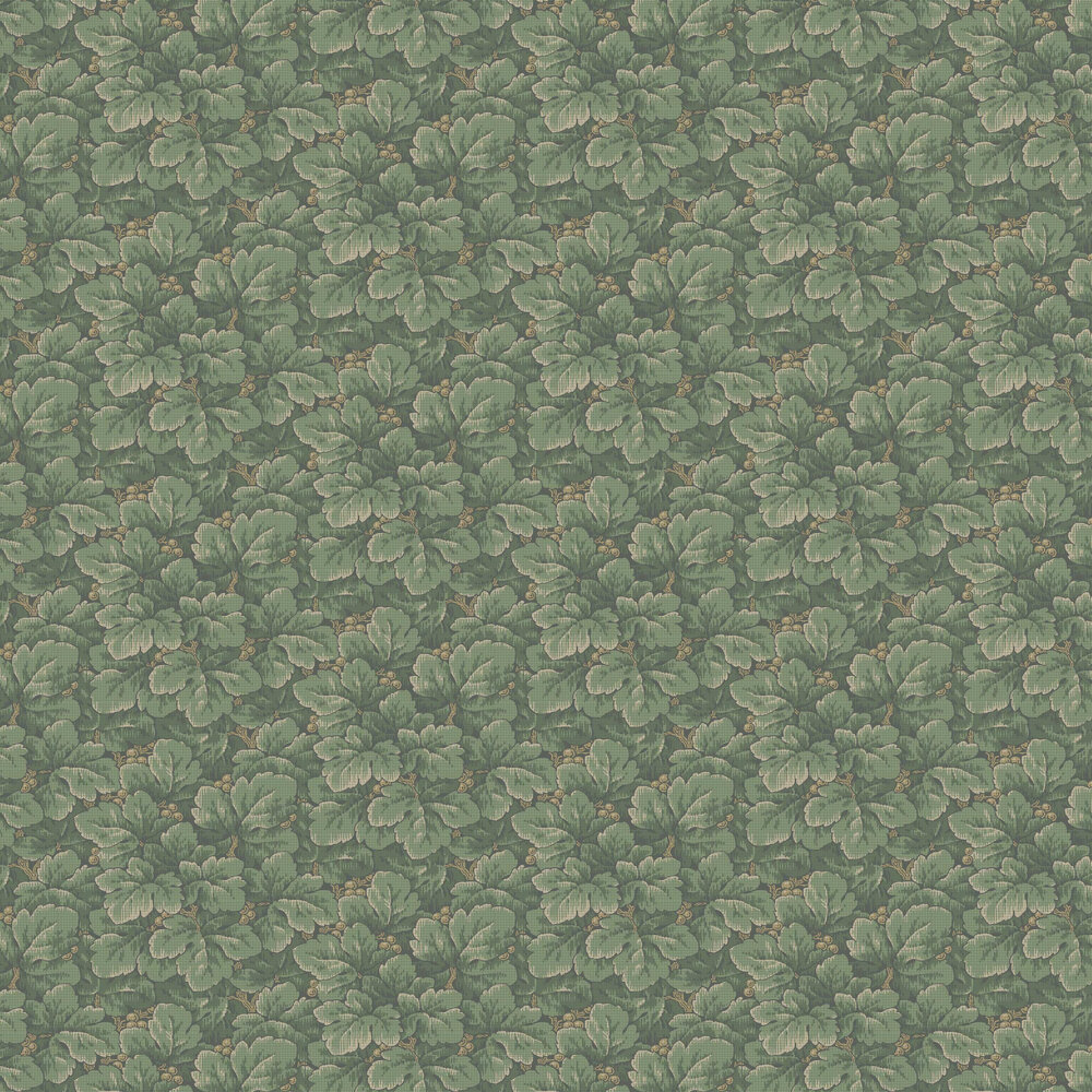 Boråstapeter Waldemar Green Wallpaper - Product code: 4544
