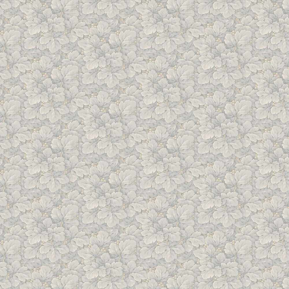 Waldemar Wallpaper - Grey - by Boråstapeter