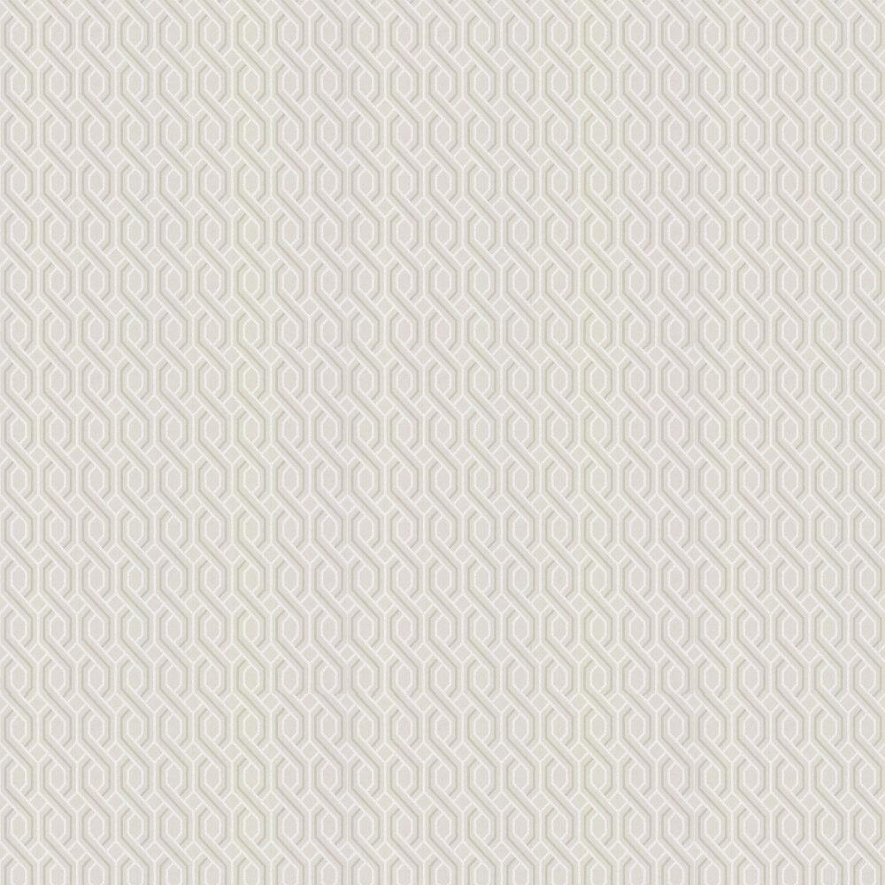 G P & J Baker Boxwood Trellis Linen Wallpaper - Product code: BW45082/1