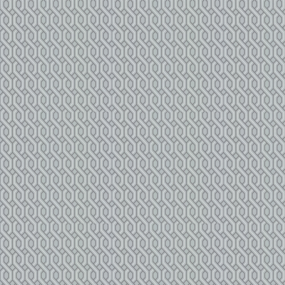 G P & J Baker Boxwood Trellis Soft Blue Wallpaper - Product code: BW45082/3