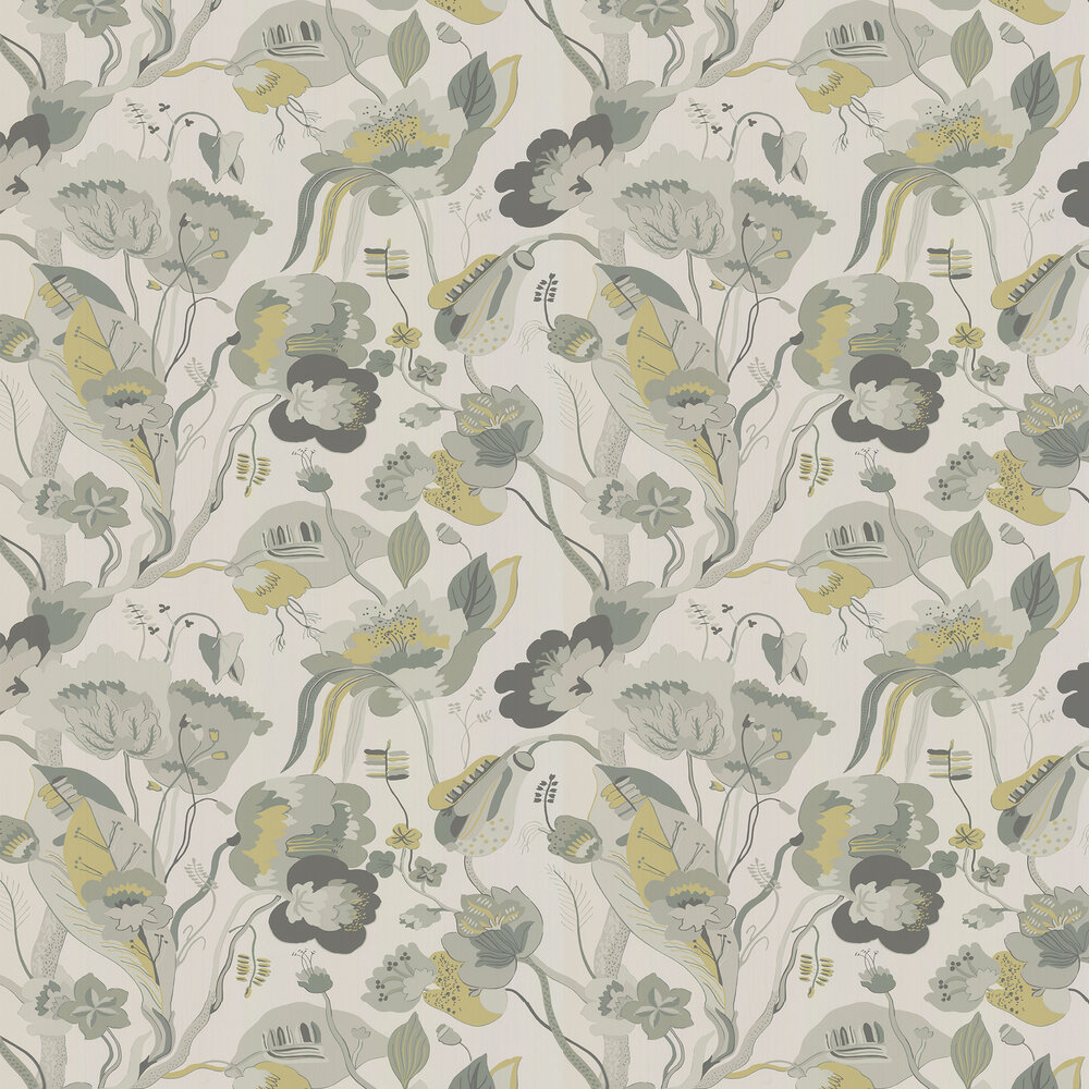 California Wallpaper - Linen - by G P & J Baker