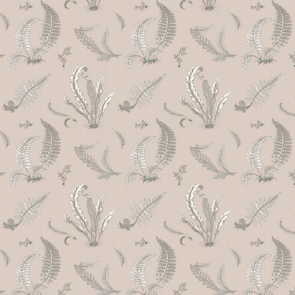 G P & J Baker Ferns Linen Wallpaper - Product code: BW45044/8