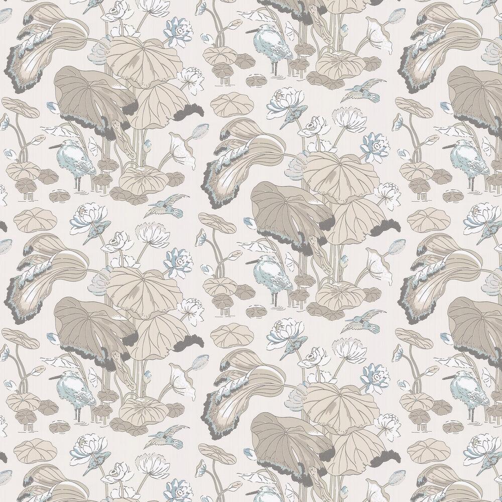 G P & J Baker Nympheus Linen Wallpaper - Product code: BW45083/3