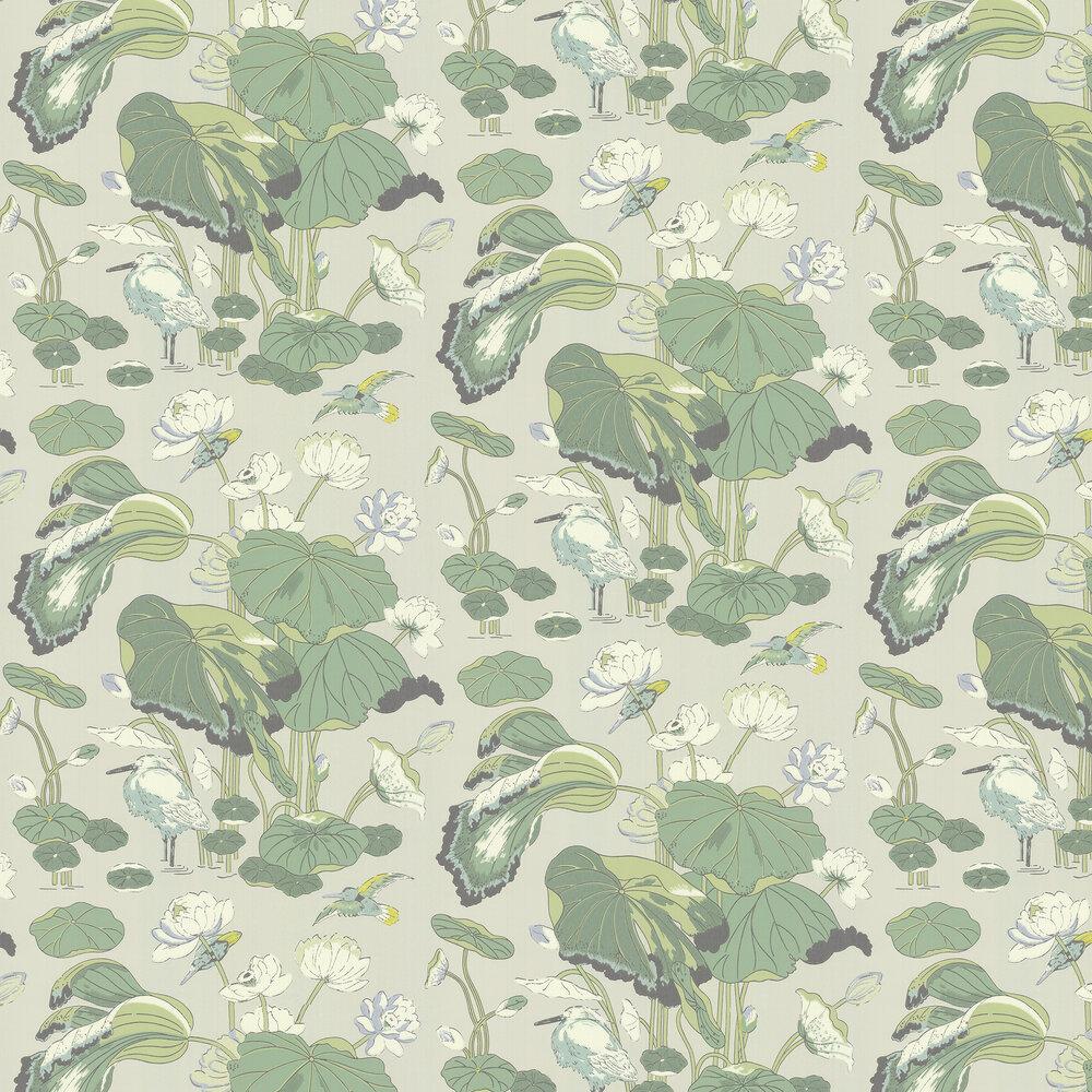 G P & J Baker Nympheus Botanical Wallpaper - Product code: BW45083/4