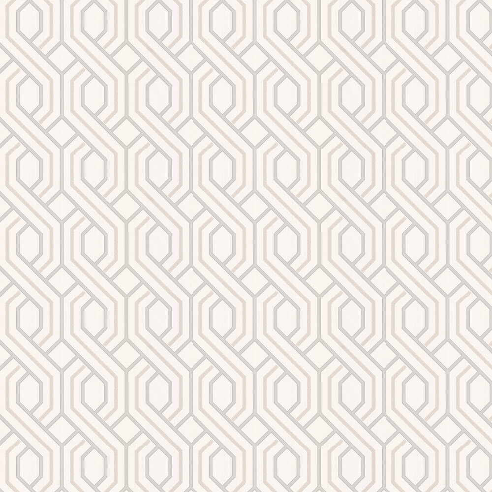 G P & J Baker Parterre Linen Wallpaper - Product code: BW45081/1