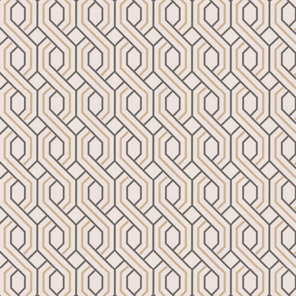 G P & J Baker Parterre Charcoal / Bronze Wallpaper - Product code: BW45081/4